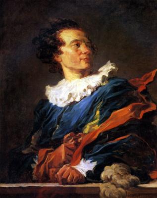 Jean Honore Fragonard. Portrait of Jean-Claude Richard de Saint-Non