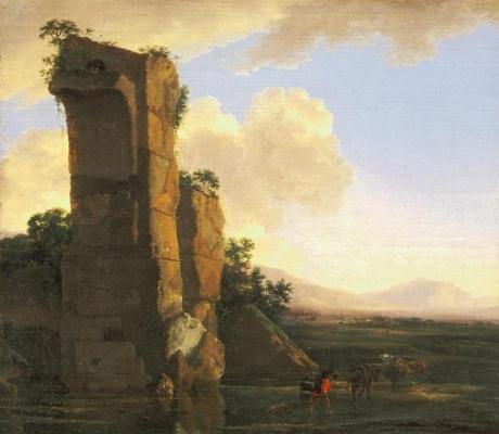 Ян Асселейн. Итальянский пейзаж