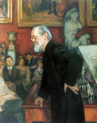 Леонид Осипович Пастернак. Портрет историка В.О. Ключевского