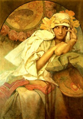 Alfons Mucha. Muse