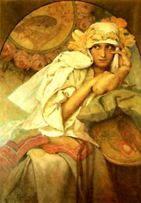 Alphonse Mucha. Muse
