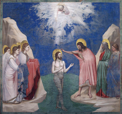 Giotto di Bondone. Epiphany. Scenes from the life of Christ