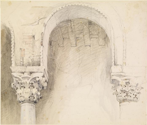 Джон Рёскин. Арка и колонны, Венеция