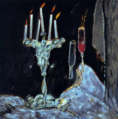 Агустин Убеда. Свечи