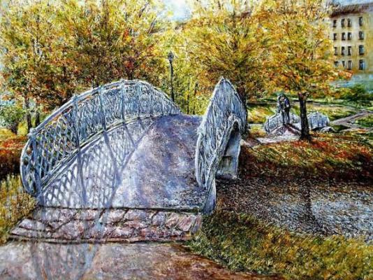 Валерий Владимирович Пахомов. Свидание на мосту