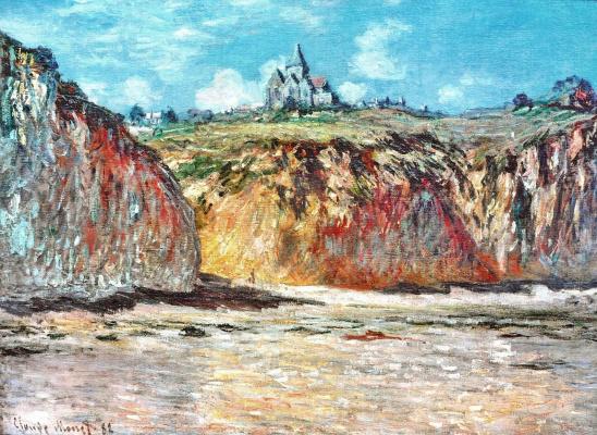 Клод Моне. Церковь в Варанжевиле