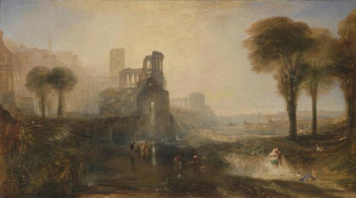 Palace and bridge of Caligula