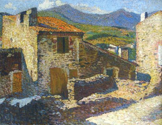 Henri Martin. Village