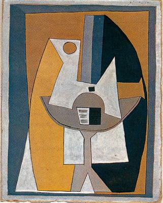 Pablo Picasso. Open book