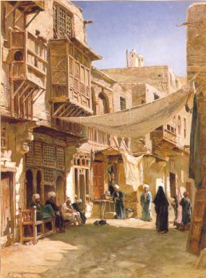 Джон Варли. Улица в ближнем Каире