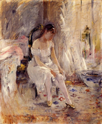 Berthe Morisot. Clothed female