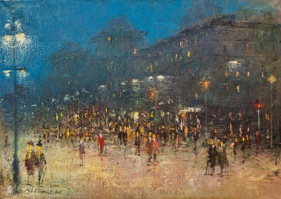 Andrew Hooke. Evening Kiev