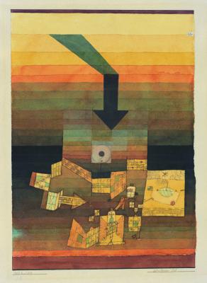 Paul Klee. Betroffener Ort