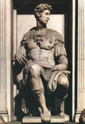 Michelangelo Buonarroti. Tomb Of Giuliano De ' Medici. Giuliano De ' Medici