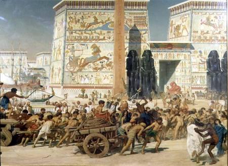 Эдвард Джон Пойнтер. Детали телеги из Израиля в Египте