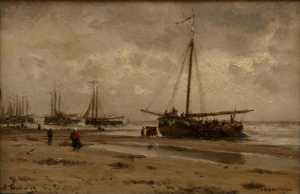 Alexey Petrovich Bogolyubov. Scheveningen. Holland