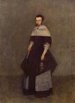 Gerard Terborch (ter Borch). Portrait of a Woman