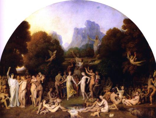 Jean Auguste Dominique Ingres. The Golden Age