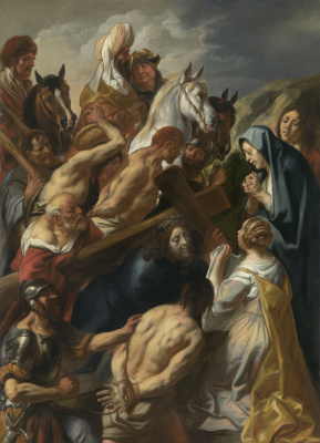 Jacob Jordaens. Carrying the Cross