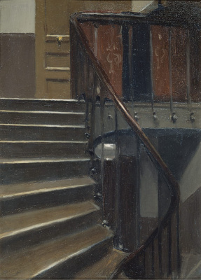 Edward Hopper. Stairway at 48 Rue de Lille, Paris