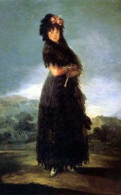 Франсиско Гойя. Портрет Марианы Вальдштейн