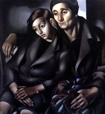 Тамара Лемпицка. Печаль в глазах (Беженцы)
