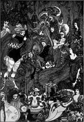 Aubrey Beardsley. Cave of Split