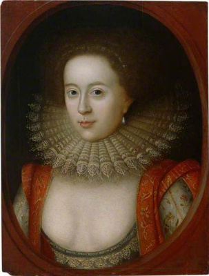 William Larkin. Portrait of Frances, Countess of Somerset