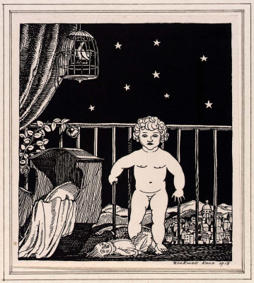 Rockwell Kent. Seven ages of men. Baby