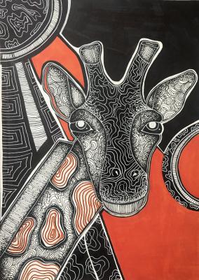 Angelica Fedortsova. Giraffe