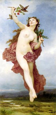 William-Adolphe Bouguereau. Day