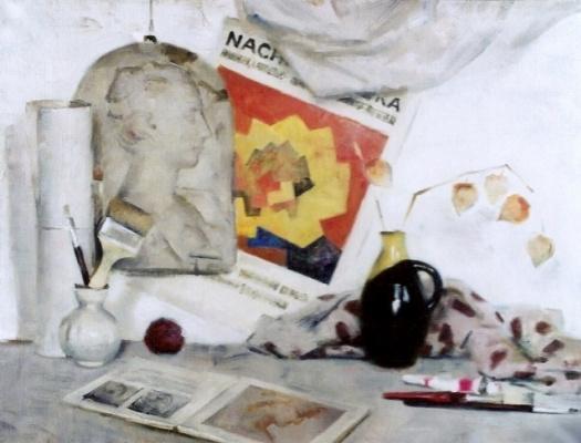 Екатерина Ивановна Киселева. White still life