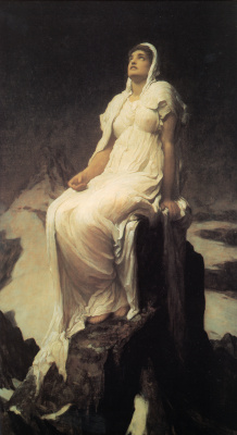 Frederic Leighton. Summit spirit