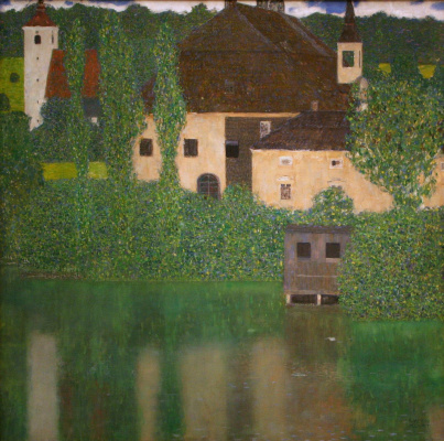 Gustav Klimt. Castle Kammer at lake Attersee I (Castle water)