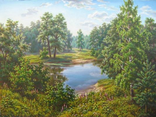 Андрей Никонорович Сутин. Lake