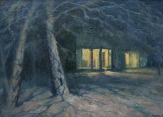 Александр Владимирович Кусенко. Snow at night