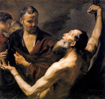 Хосе де Рибера. Мученичество Святого Варфоломея