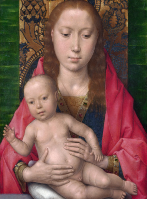 Hans Memling. The Madonna and child