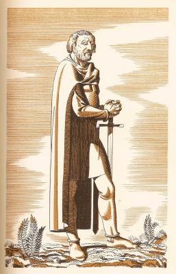 Рокуэлл Кент. Иллюстрация к сборнику «Кентерберийские рассказы» Джефри Чосера