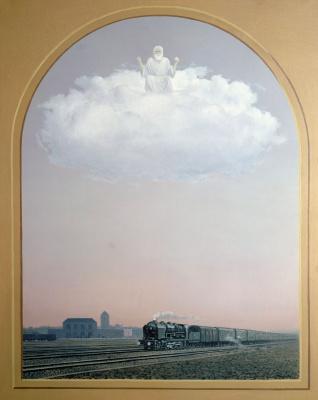 René Magritte. Nightingale