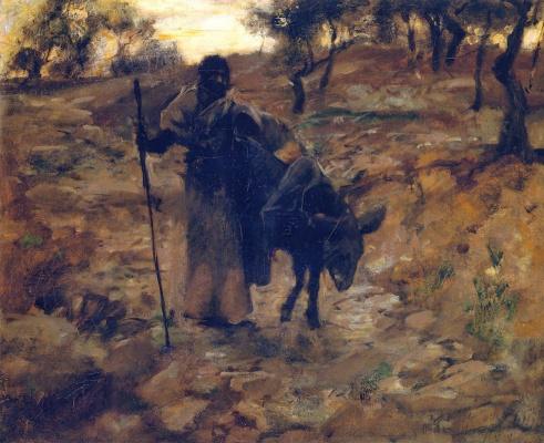 Джон Сингер Сарджент. Бегство в Египет