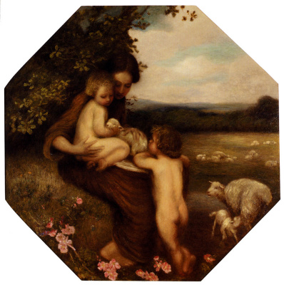 Эдвард Стотт. Мать с детьми