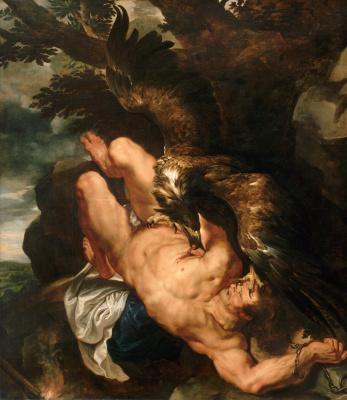 Peter Paul Rubens. Prometheus chained