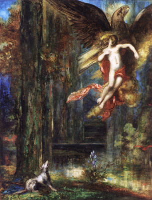 Gustave Moreau. The Abduction of Ganymede