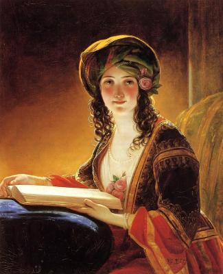 Фридрих фон Амерлинг. Молодая восточная женщина. 1854