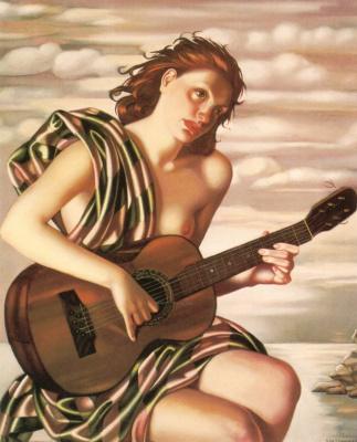 Tamara Lempicka. Amethyst