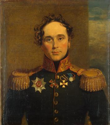 George Dow. Portrait of Fyodor Vasilyevich Drizen