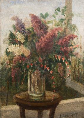 Арий Соломонович Аксельрод. Натюрморт. 1920-30-е
