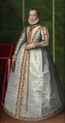 Sofonisba Angisola. Portrait of a young aristocrat