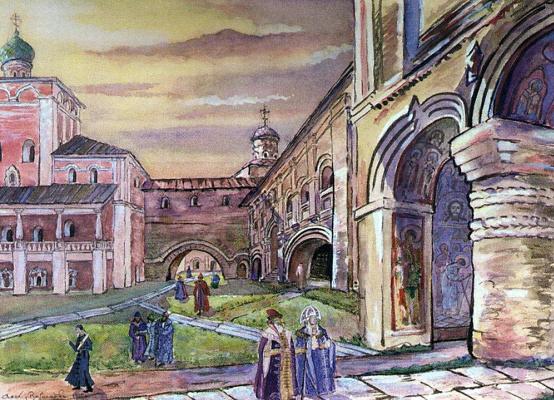Apollinarius Mikhailovich Vasnetsov. Kirillo-Belozersky monastery